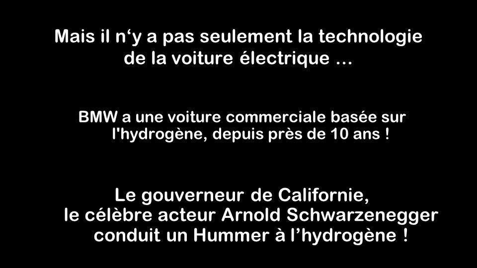Mais il n'y a pas seulement la technologie de la voiture électrique ...