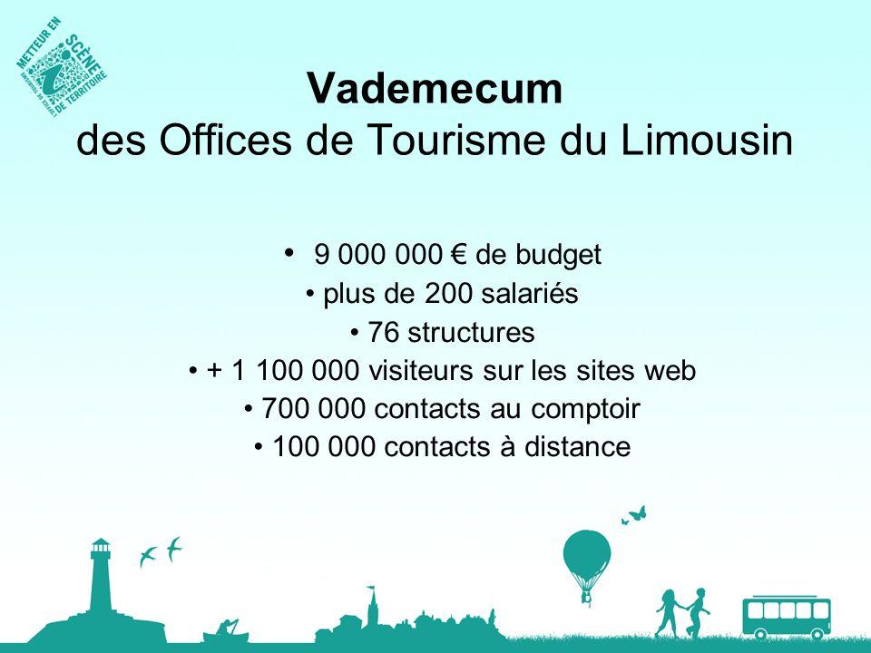 Vademecum des Offices de Tourisme du Limousin