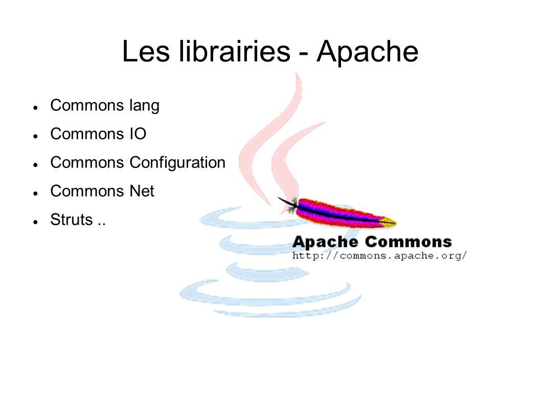 Les librairies - Apache