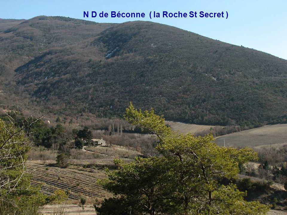 N D de Béconne ( la Roche St Secret )