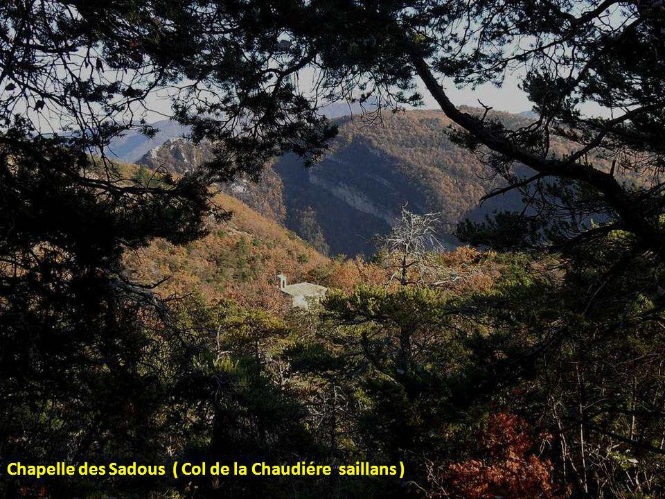 Chapelle des Sadous ( Col de la Chaudiére saillans )