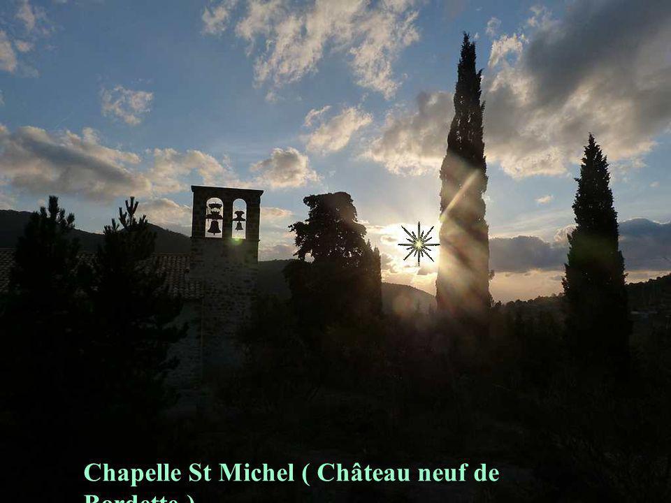 Chapelle St Michel ( Château neuf de Bordette )