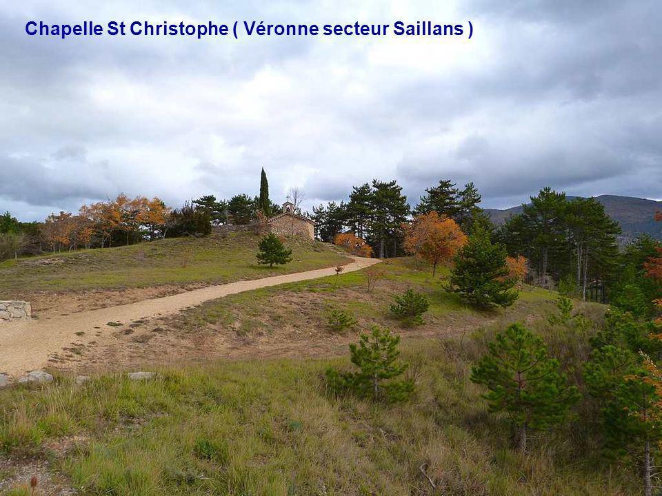 Chapelle St Christophe ( Véronne secteur Saillans )