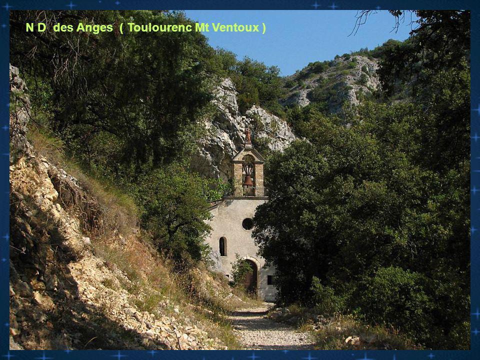 N D des Anges ( Toulourenc Mt Ventoux )
