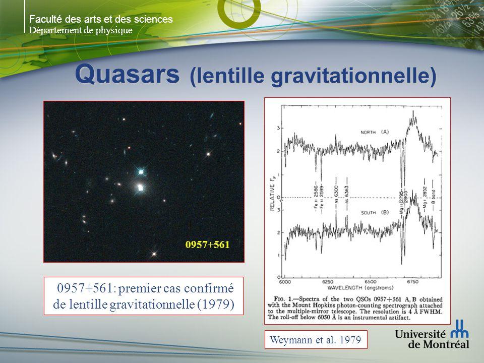 Quasars (lentille gravitationnelle)