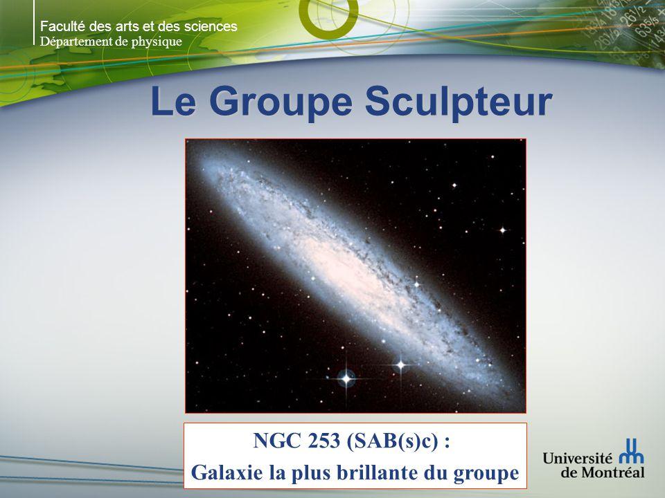 Galaxie la plus brillante du groupe