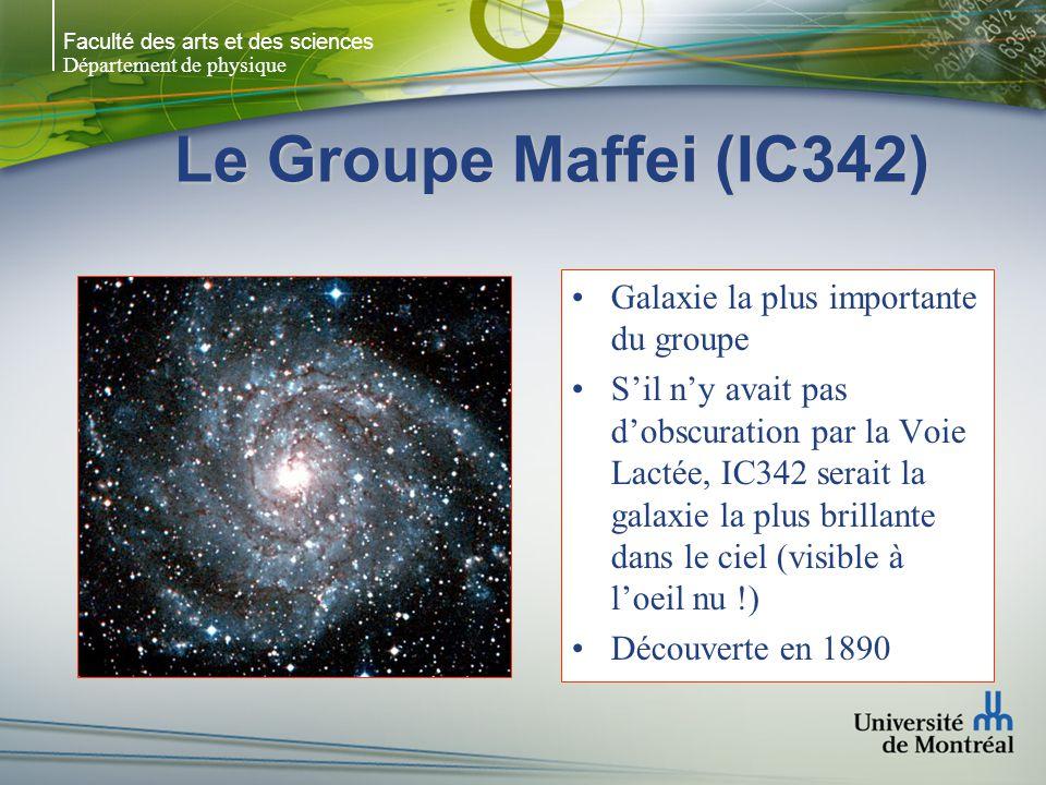 Le Groupe Maffei (IC342) Galaxie la plus importante du groupe