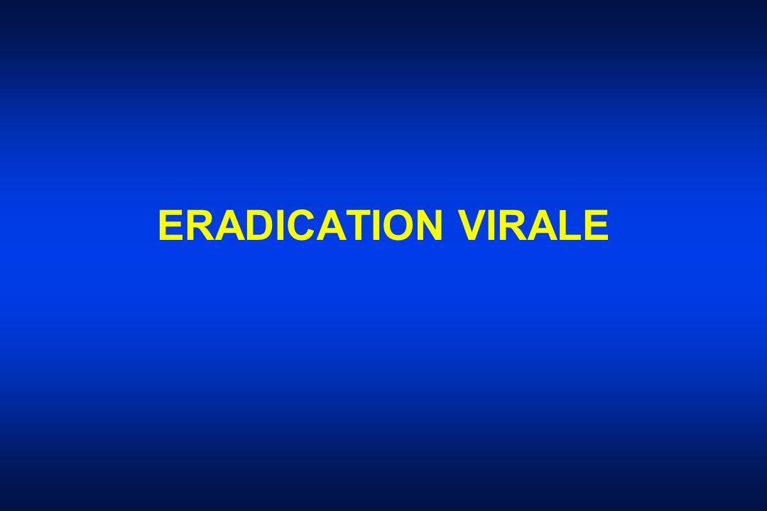ERADICATION VIRALE