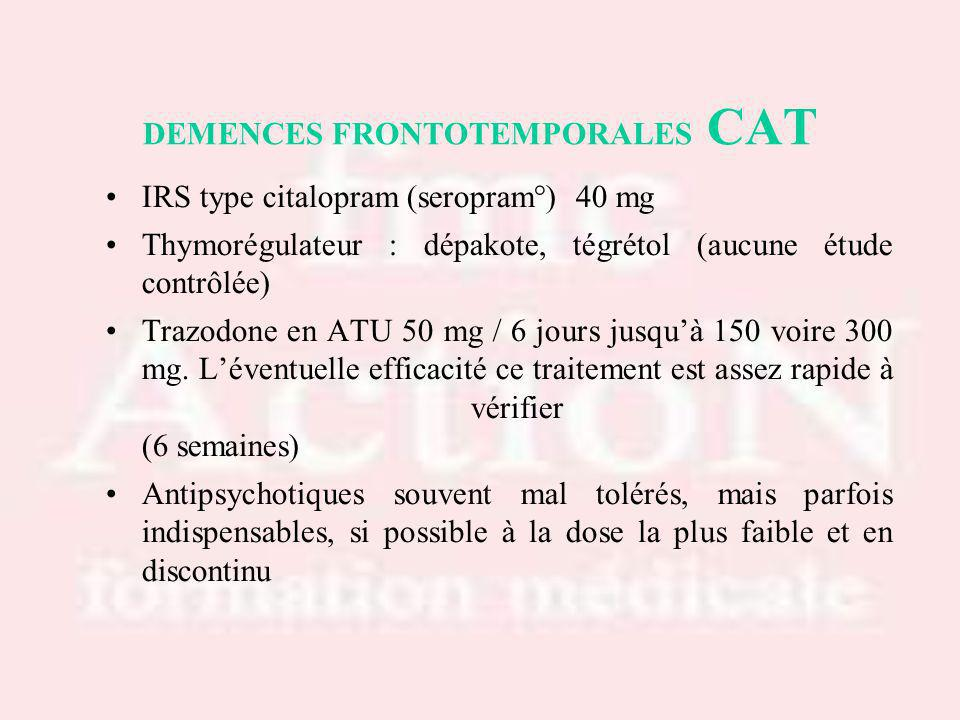 DEMENCES FRONTOTEMPORALES CAT