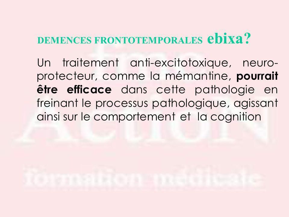 DEMENCES FRONTOTEMPORALES ebixa