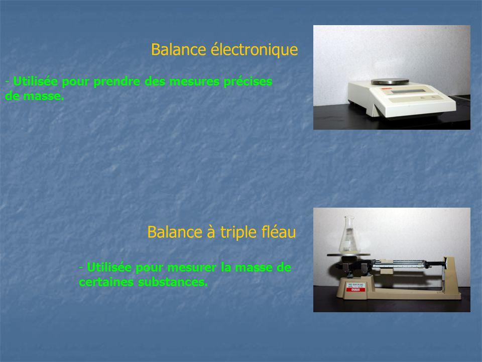 Balance électronique Balance à triple fléau