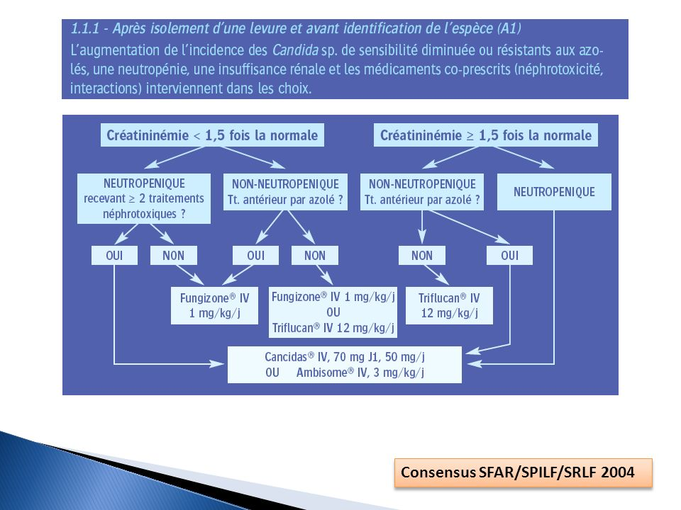 Consensus SFAR/SPILF/SRLF 2004