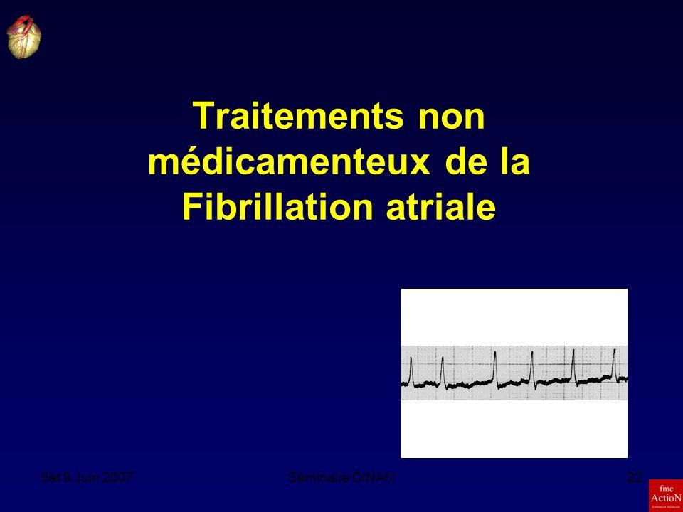 Traitements non médicamenteux de la Fibrillation atriale