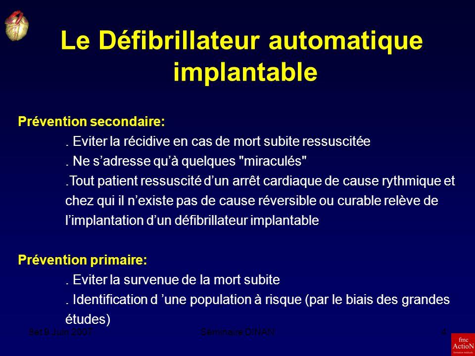 Le Défibrillateur automatique