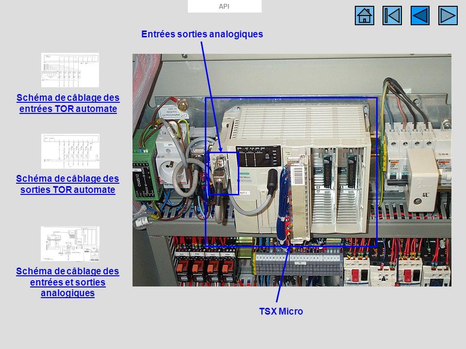 Photo API TSX Micro Entrées sorties analogiques