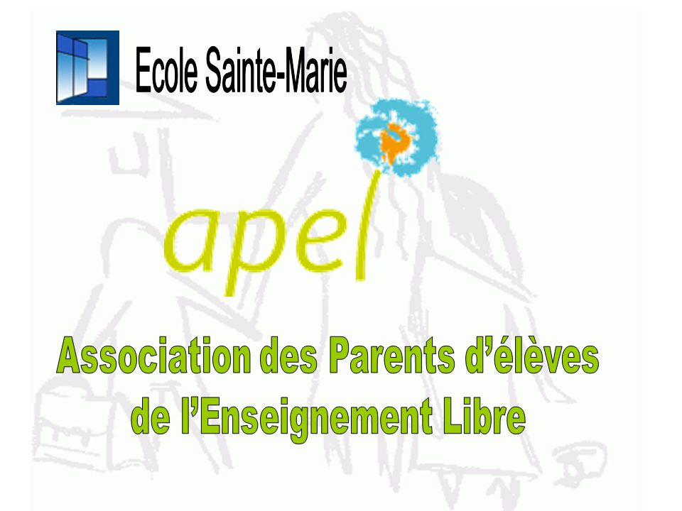 Ecole Sainte-Marie Association des Parents d'élèves
