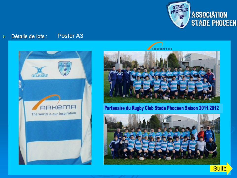 Partenaire du Rugby Club Stade Phocéen Saison 2011/2012