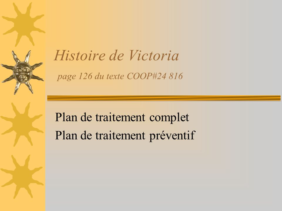 Histoire de Victoria page 126 du texte COOP#24 816