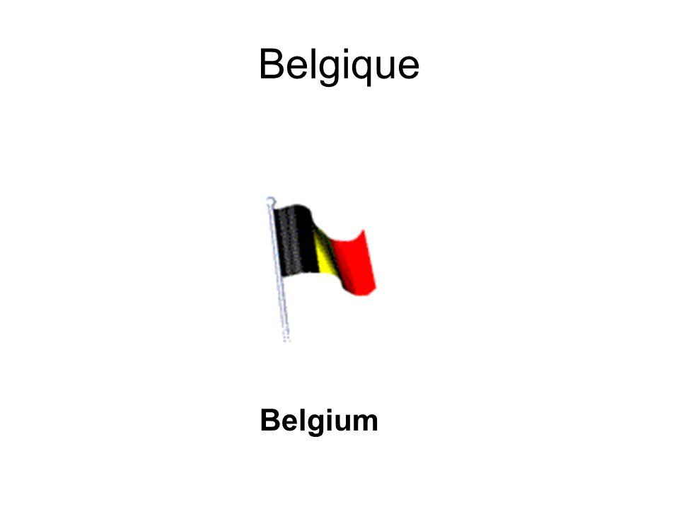 Belgique Belgium