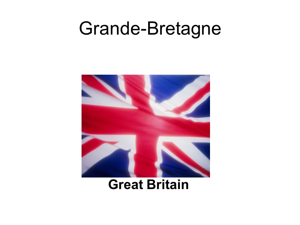 Grande-Bretagne Great Britain
