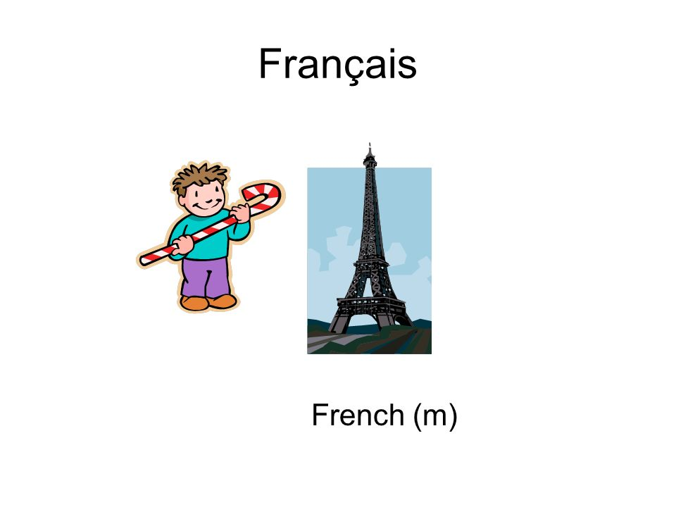 Français French (m)