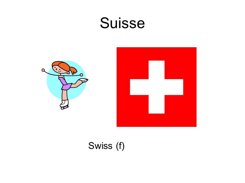 Suisse Swiss (f)
