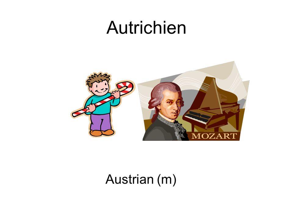 Autrichien Austrian (m)