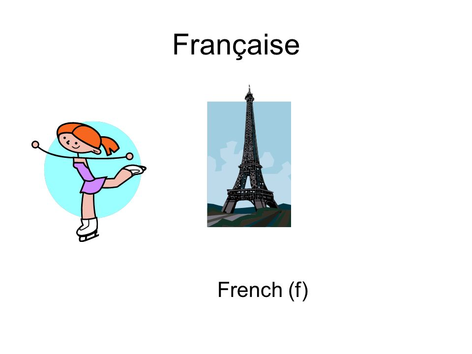 Française French (f)