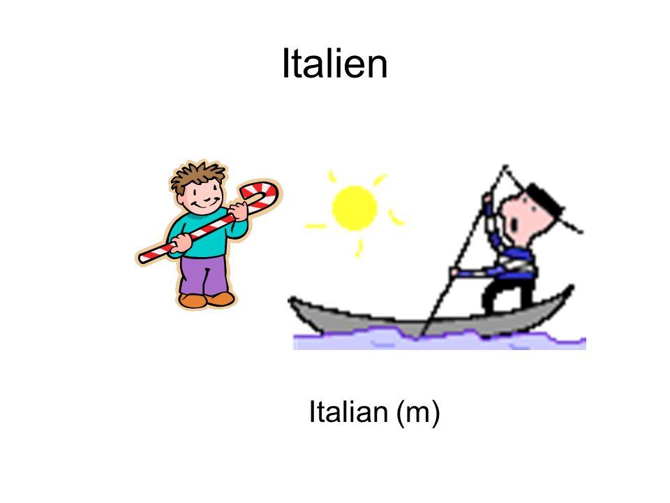 Italien Italian (m)