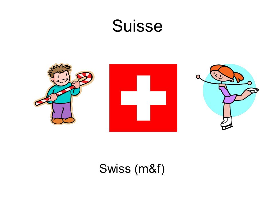 Suisse Swiss (m&f)