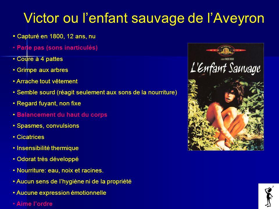 Victor ou l'enfant sauvage de l'Aveyron