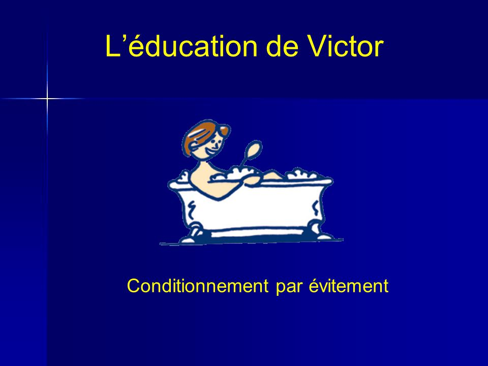 Conditionnement par évitement