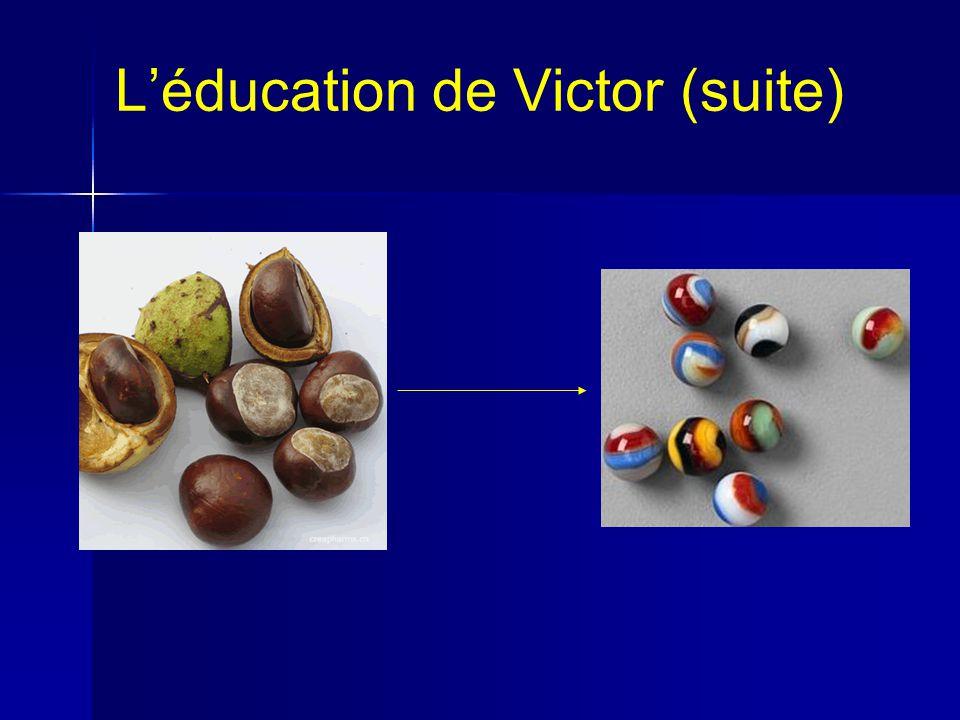 L'éducation de Victor (suite)