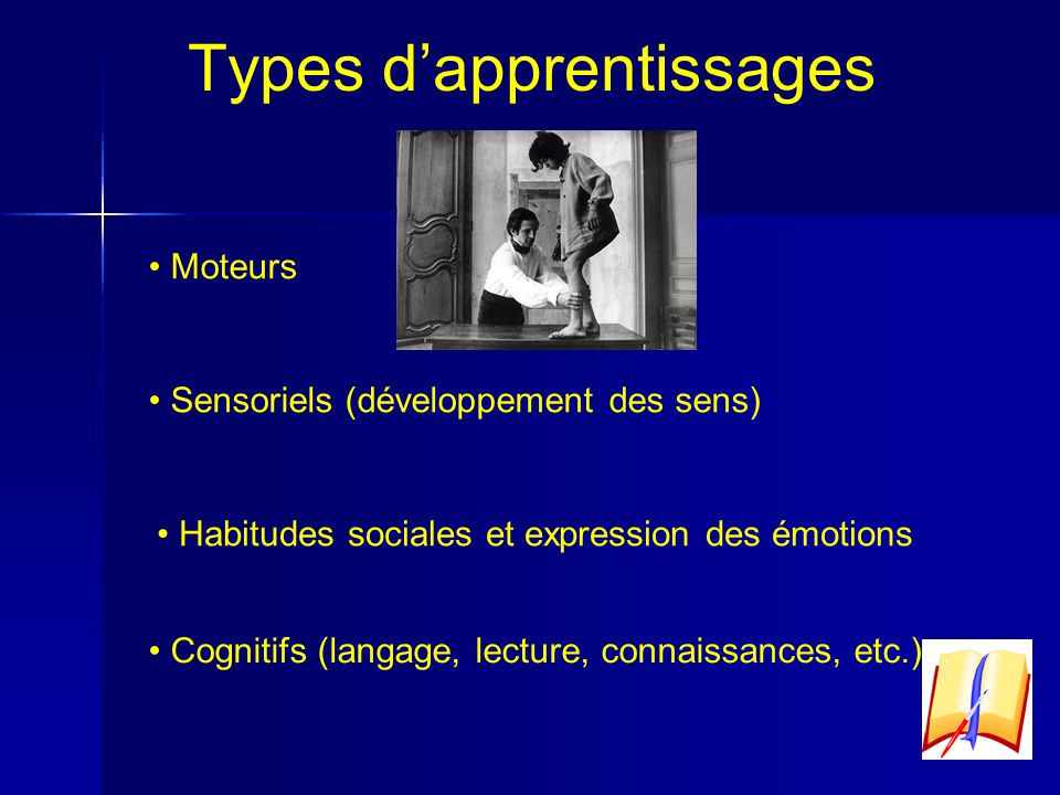 Types d'apprentissages