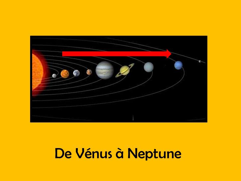 De Vénus à Neptune