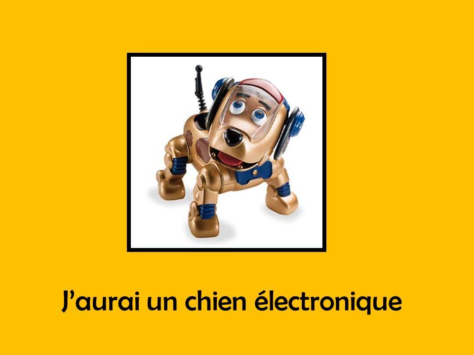 J'aurai un chien électronique