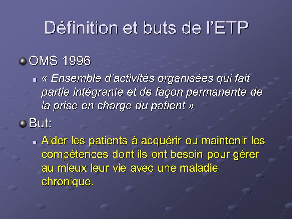 Définition et buts de l'ETP