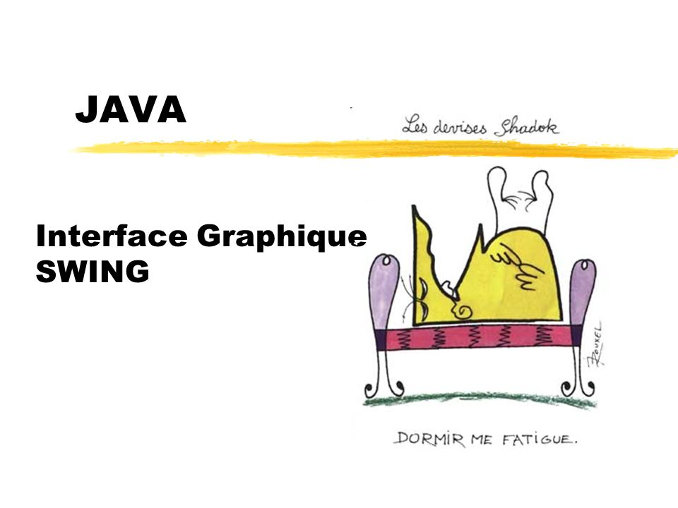 Interface Graphique SWING