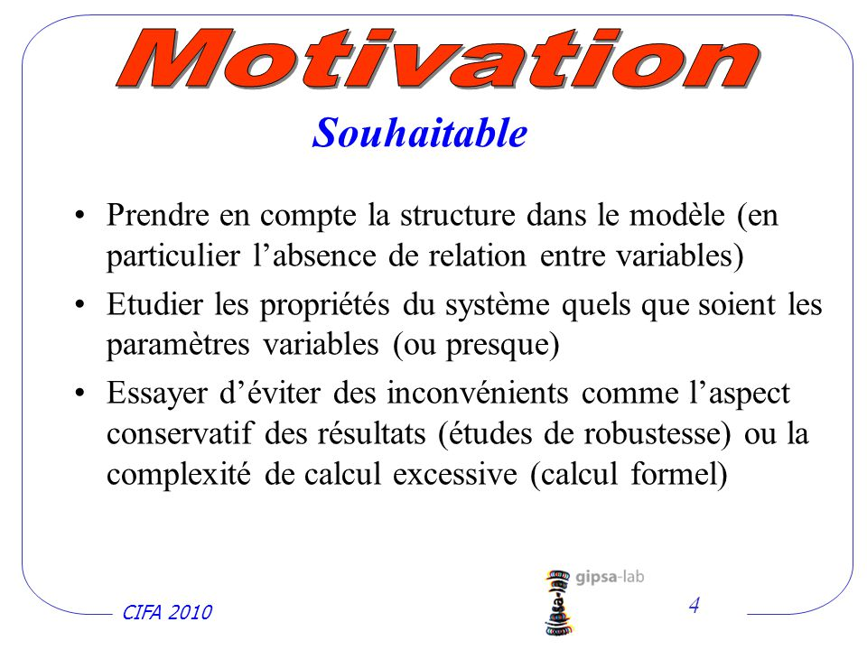 Motivation Souhaitable
