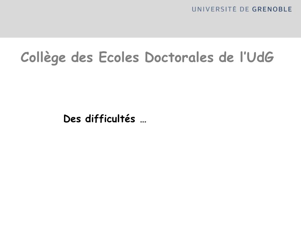 Collège des Ecoles Doctorales de l'UdG