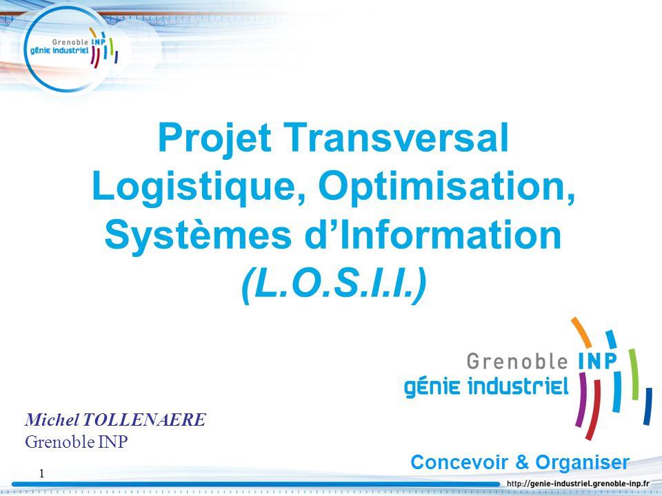 Projet Transversal Logistique, Optimisation, Systèmes d'Information (L