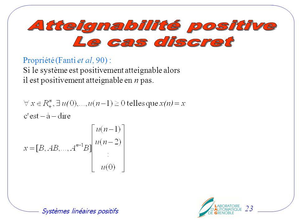 Atteignabilité positive