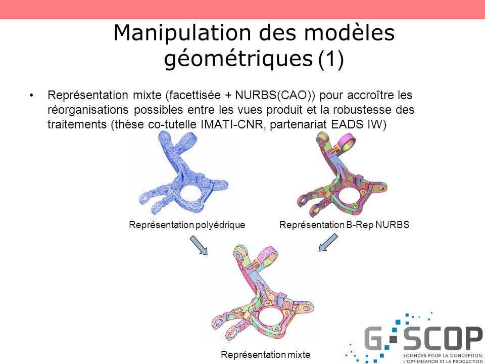 Manipulation des modèles géométriques (1)