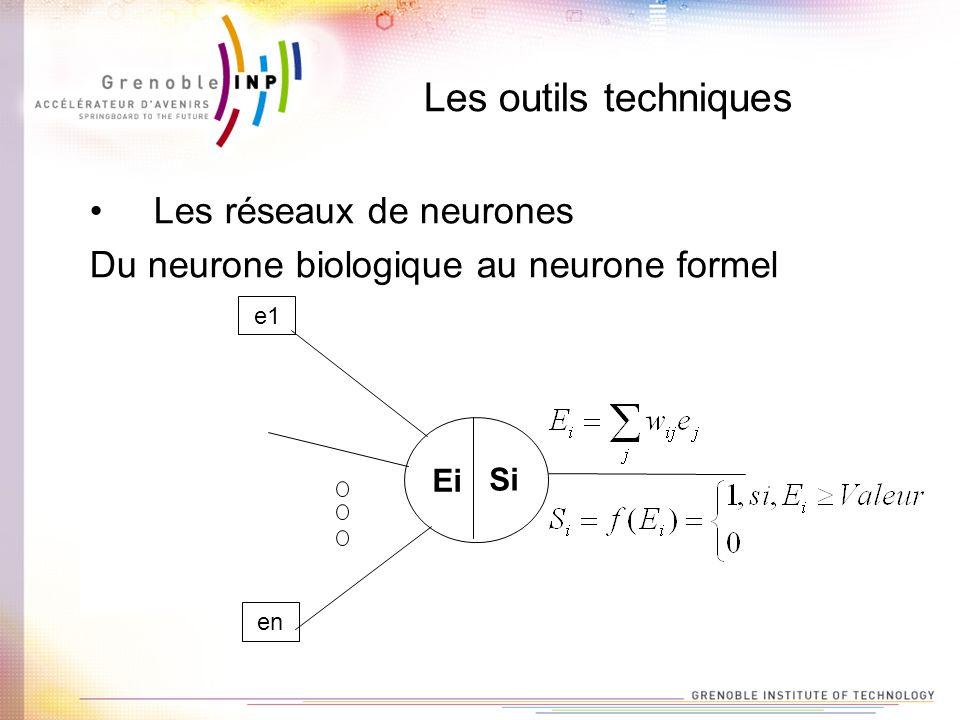 Les outils techniques Les réseaux de neurones