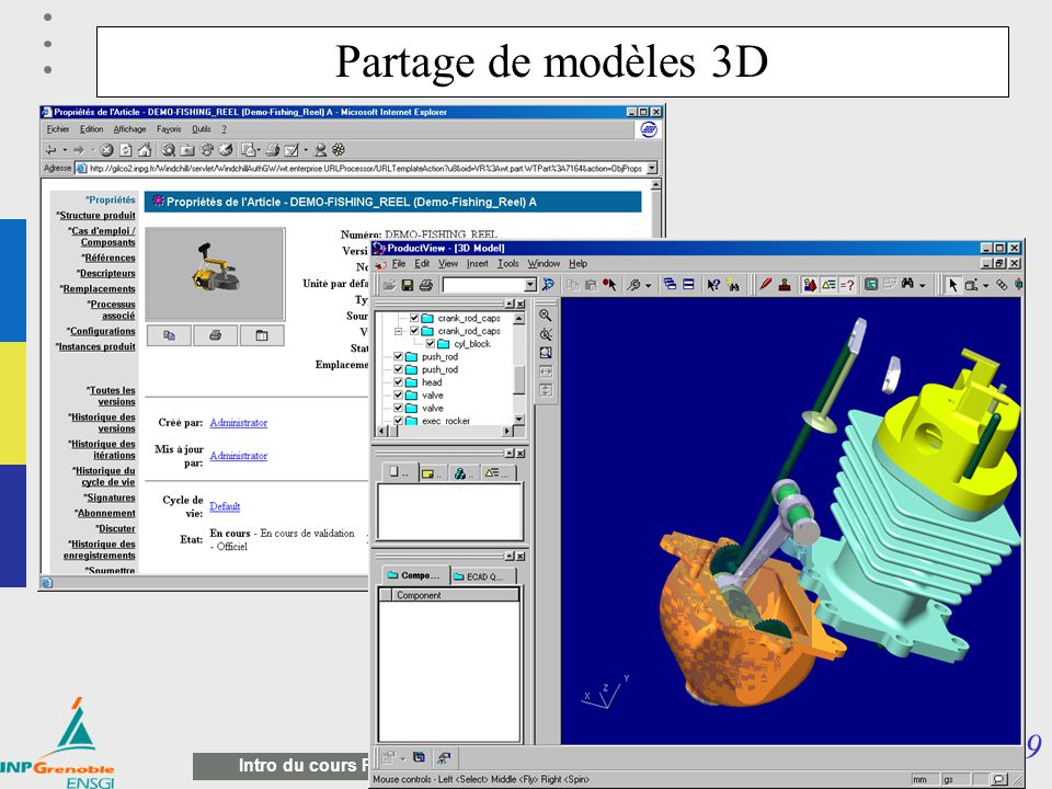 Partage de modèles 3D