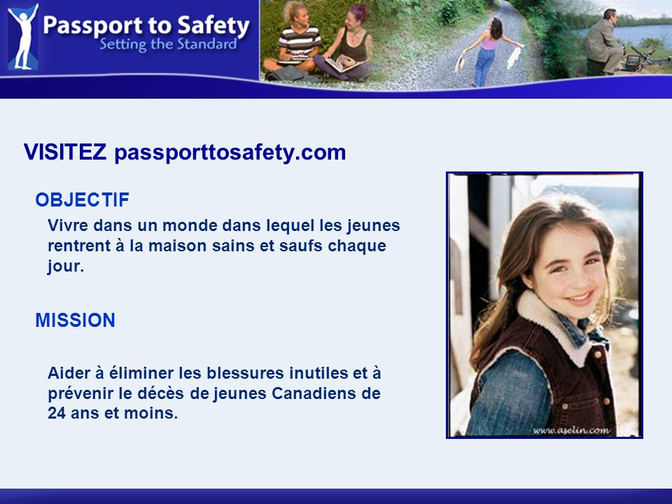 VISITEZ passporttosafety.com