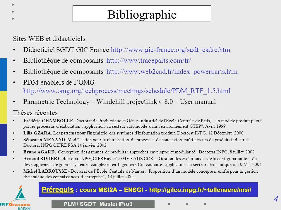 Bibliographie Sites WEB et didacticiels