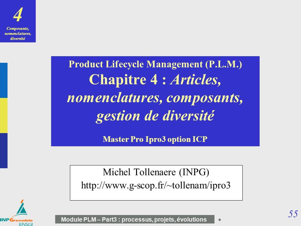 Michel Tollenaere (INPG) http://www.g-scop.fr/~tollenam/ipro3