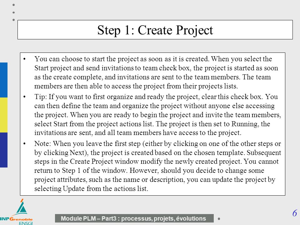 Step 1: Create Project