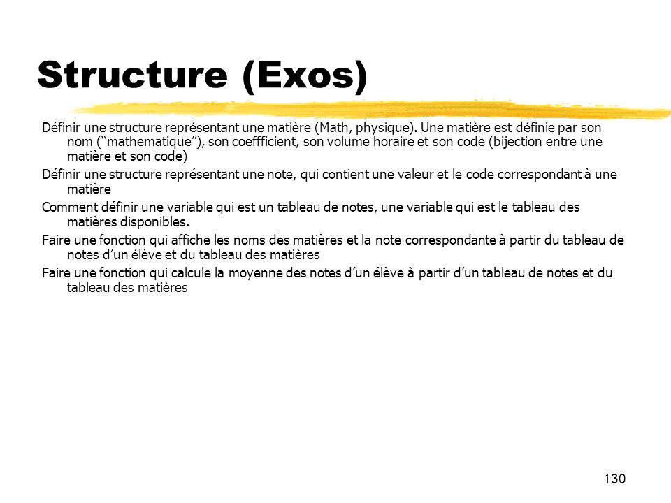 Structure (Exos)